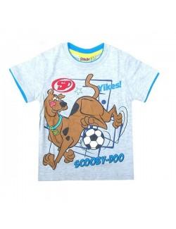 Tricou maneca scurta gri, Scooby Doo fotbalist