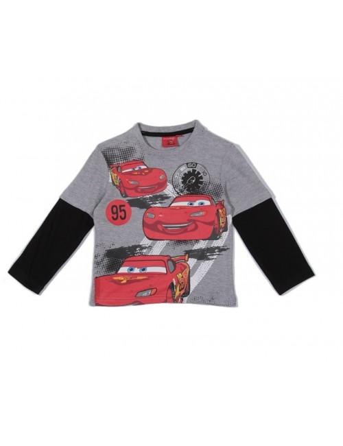 Bluza copii, Disney Cars, gri - negru, 4 ani