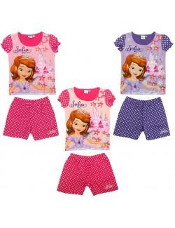 Pijamale vara fete, Printesa Sofia 2-5 ani