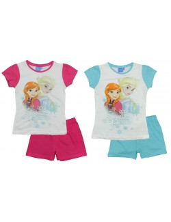 Pijama vara Disney Frozen Sisters forever, 6-8 ani