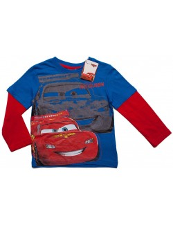 Bluza albastra, Disney Cars Fulger McQueen 3 ani si 8 ani
