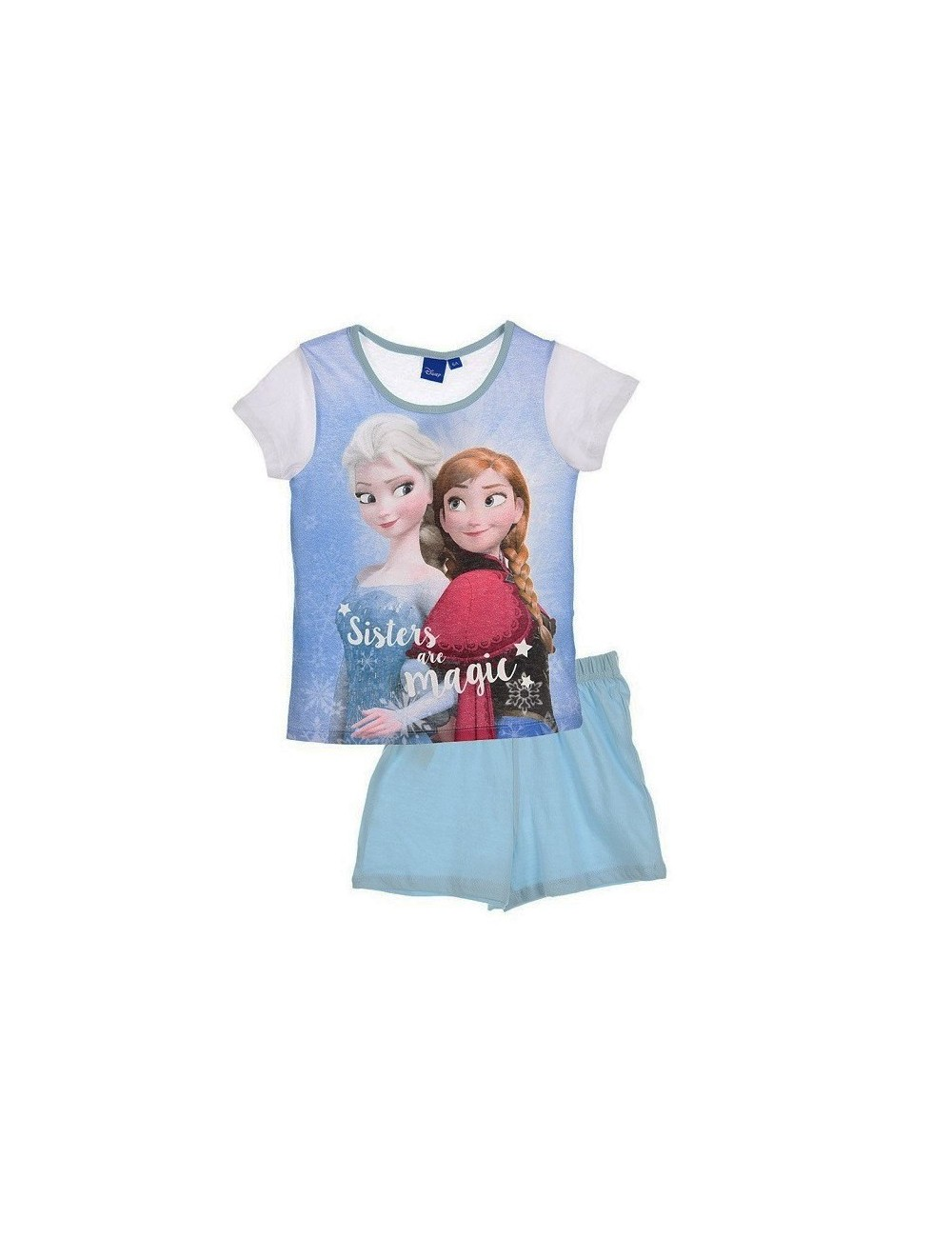 "Pijama de vara Disney Frozen ""Sisters are magic"""