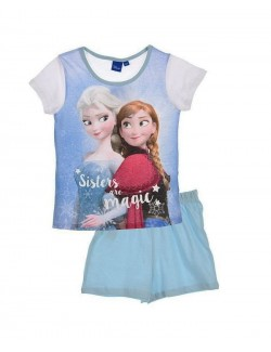 "Pijama vara copii, Disney Frozen ""Sisters are magic"""