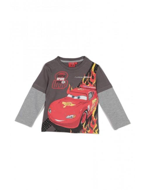 Bluza copii, Disney Cars Fulger McQueen, maro