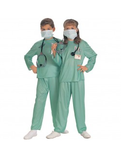 Costum Medic urgenta copii 3-4 ani