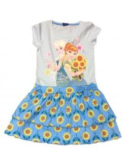 Rochita de vara copii, Frozen floarea - soarelui, 2- 8 ani