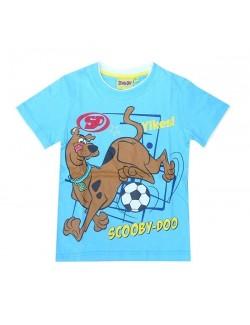 Tricou copii, bleu, Scooby Doo fotbalist