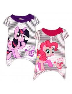 Tricou tunica, asimetric, My Little Pony