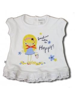 Tricou tunica bebelusi 0-12 luni Sunshine