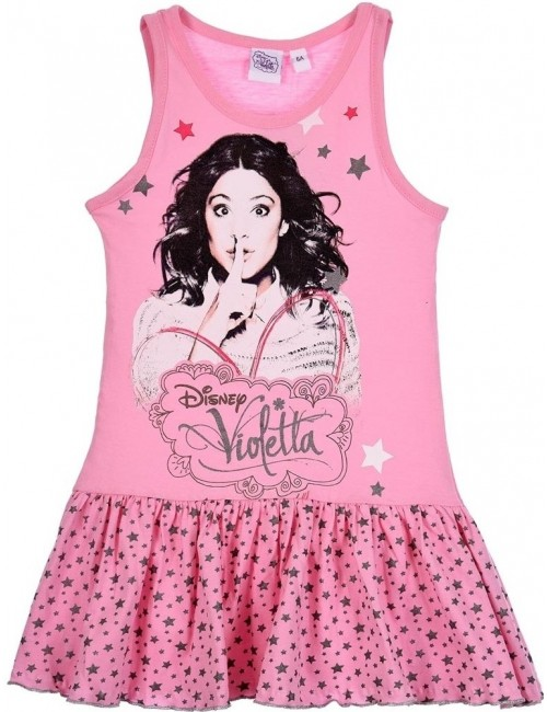 Rochie de plaja Violetta, roz, 6 - 12 ani