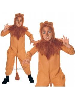 Costum carnaval: Leul cel fricos (Cowardly Lion) 9/12 ani