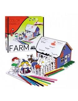 Set creatie copii: Viata la Ferma