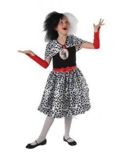 Costum carnaval copii: Cruella de Vil Rubie's