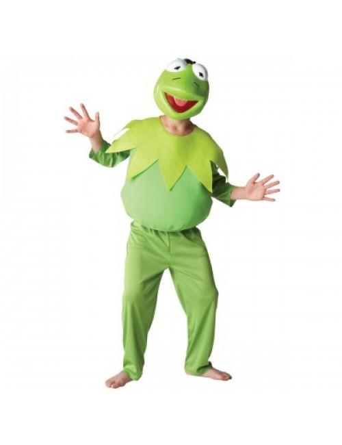 Costum carnaval Broscoiul Kermit The Muppets