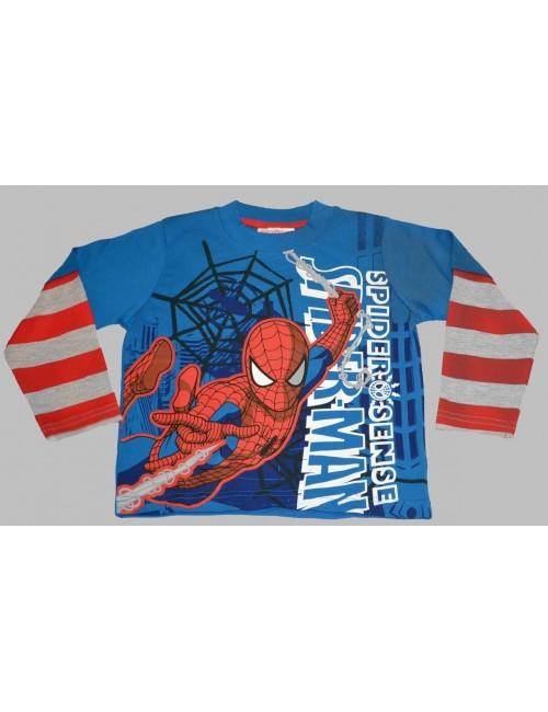 Bluza Spiderman cu maneca lunga 18 luni - 5 ani