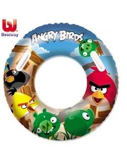 Colac inot Angry Birds , 91 cm, Bestway