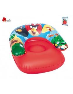 Scaun gonflabil copii Angry Birds 76x76 cm
