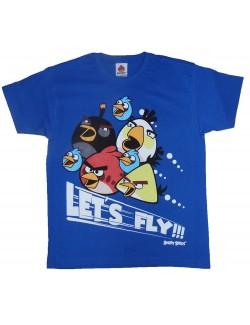Tricouri maneca scurta copii Angry Birds