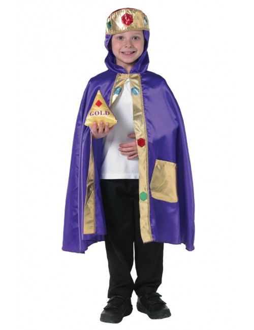 Costum carnaval copii: REGE Rubie's