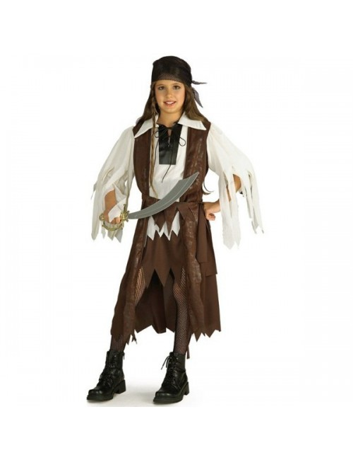 Costum carnaval fete: Regina Piratilor din Caraibe