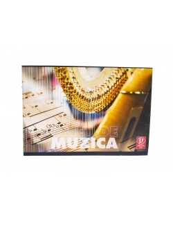 Caiet de MUZICA, 24 file, Pigna Clasic