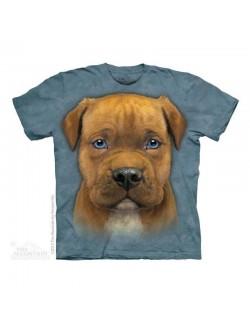 Tricou The Mountain Pit Bull Puppy, copii 4-18 ani