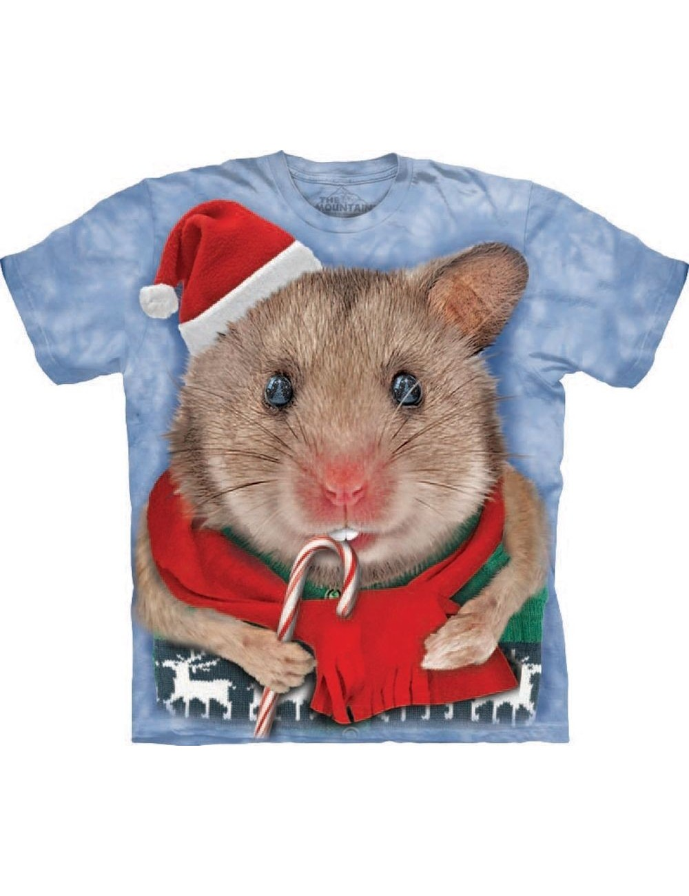 Tricou The Mountain adulti: Christmas Mouse