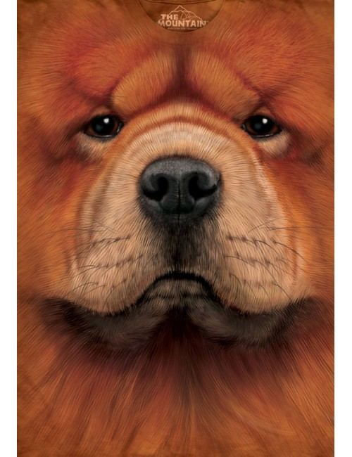 Tricou The Mountain copii Chow Chow Face