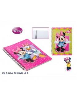 Caiet de notite A5, 60 file, Disney Minnie Mouse