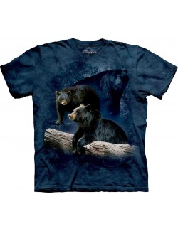 Tricou The Mountain adulti: Black Bear Trilogy