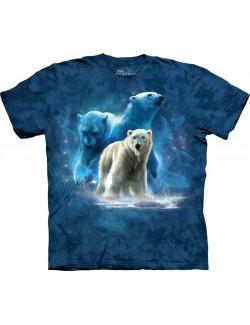 Tricou The Mountain copii: Polar Collage