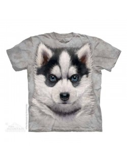 Tricou The Mountain copii: Siberian Husky Puppy