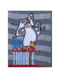 Pulover tricotat cu Pinguinii din Madagascar
