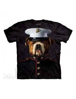 Tricou copii The Mountain: Bulldog Marine, 4-6 ani