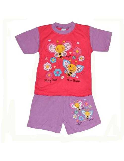 Set haine vara copii Albinute vesele 1-3 ani