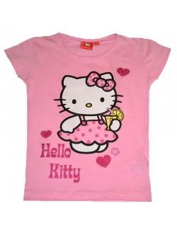Tricou maneca scurta Hello Kitty 8 ani