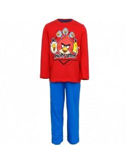 Pijama maneca lunga Angry Birds 4-10 ani
