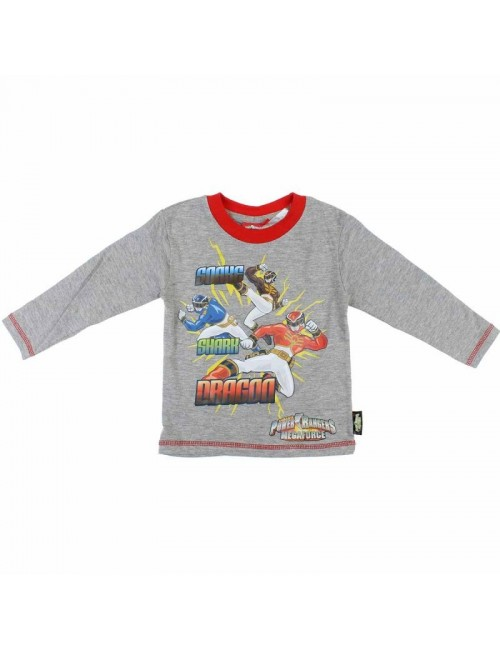 Bluza copii, Power Rangers, gri, 2 - 8 ani