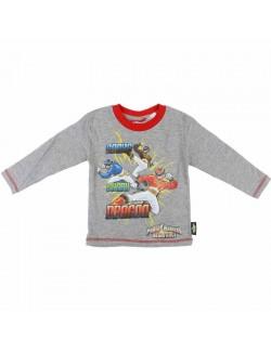 Bluza maneca lunga, gri, Power Rangers 2 - 8 ani