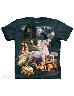 Tricou The Mountain copii: Halloween Unicorn