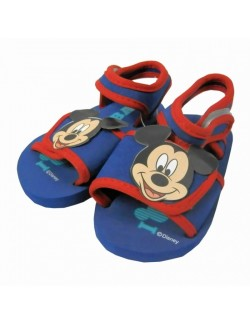 Sandale Mickey Mouse, albastre, 22-28