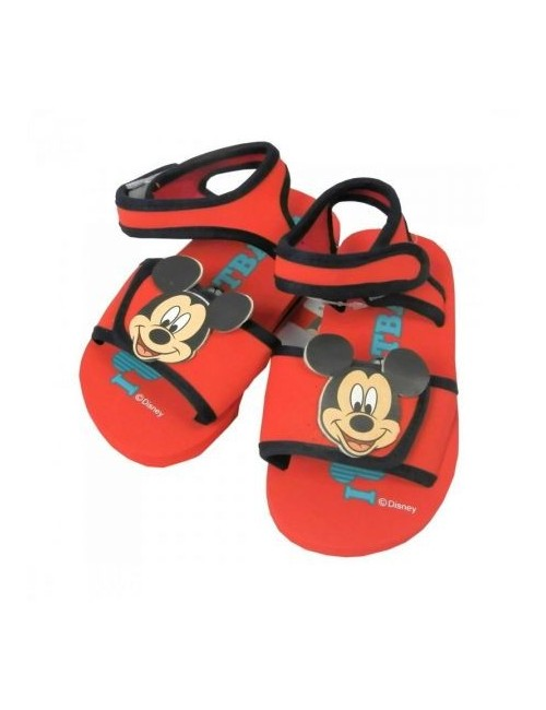 Sandale Mickey Mouse, rosii, 22-28