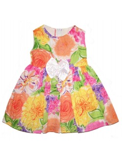 Rochie de vara multicolora, copii 3 ani