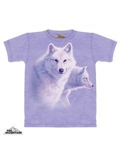 Tricou The Mountain Graceful White Wolves, copii 10-18 ani