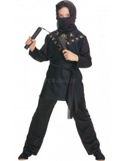 Costum carnaval Black Ninja copii Rubie's