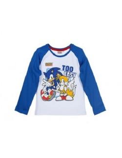 Bluza baieti Ariciul Sonic 3 - 4 ani