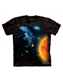 Tricou The Mountain copii: Solar System