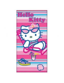 Prosop de plaja Hello Kitty 70 x 140 cm