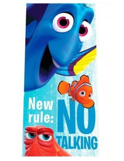 "Prosop de plaja Disney Finding Dory"" No talking!"""