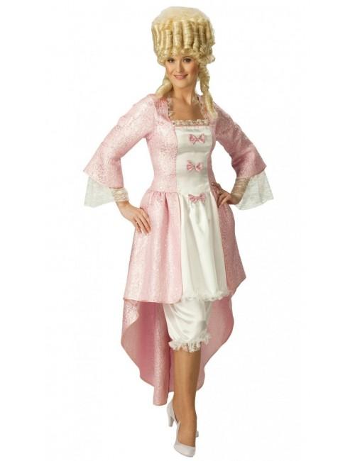 Costum carnaval femei: Rochie Rococo Rubie's